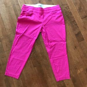Pink Plus Size Dress Pants
